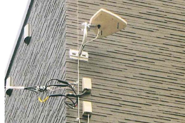 テレビアンテナ設置工事・アンテナ電波調査・BS,CSアンテナ調整