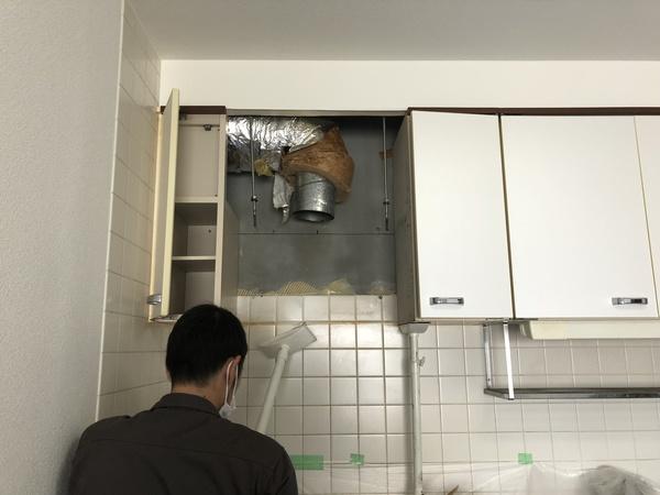 レンジフード交換工事 松戸市