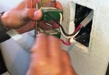 壁スイッチの交換修理 白井市