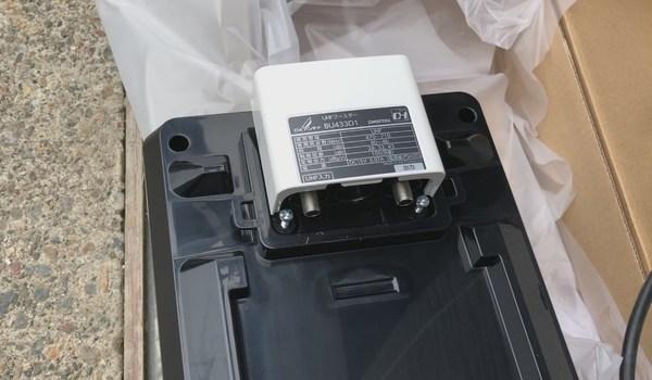 DXアンテナ製品 平面アンテナ設置