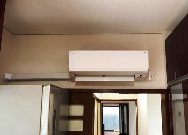 エアコン取付 ダイキン工業製品