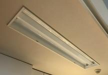 キッチン埋め込み照明改修工事