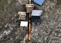 アンテナ部材交換 分配器+ブースター